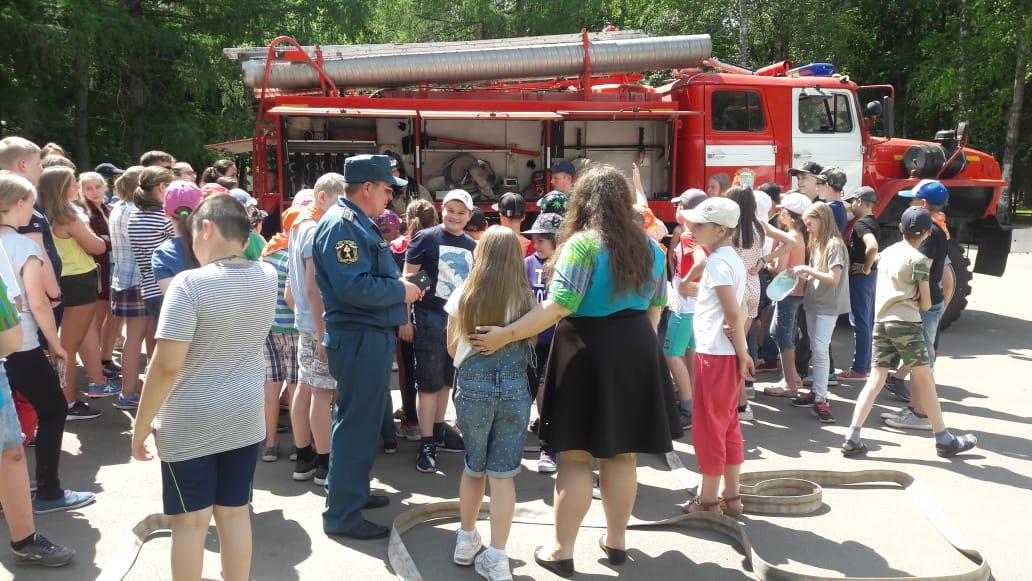 В детских лагерях «Соколенок» и «Горки» безопасно продолжаем отдыхать!