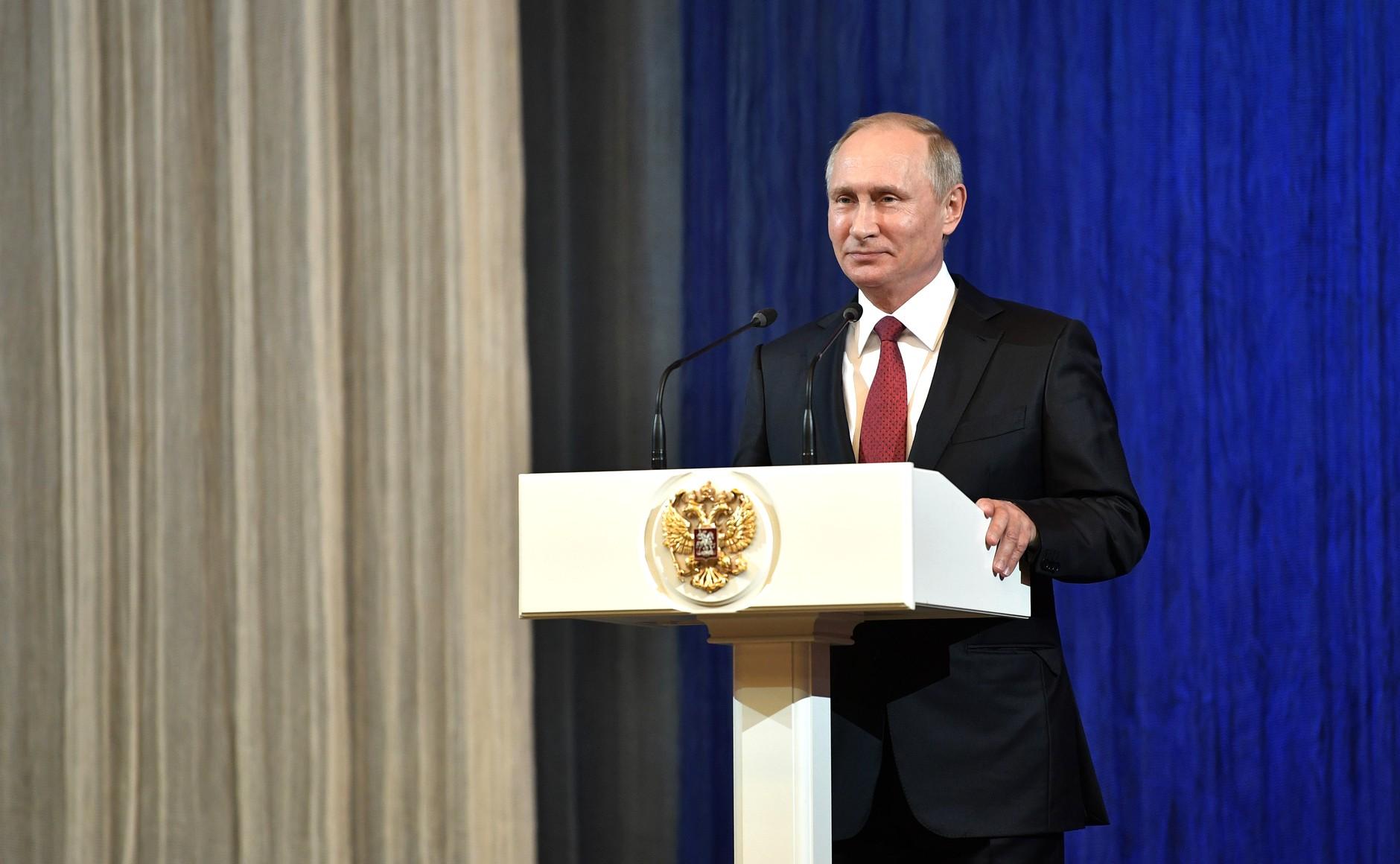 Владимир Путин отметил «грандиозные изменения» в развитии Москвы