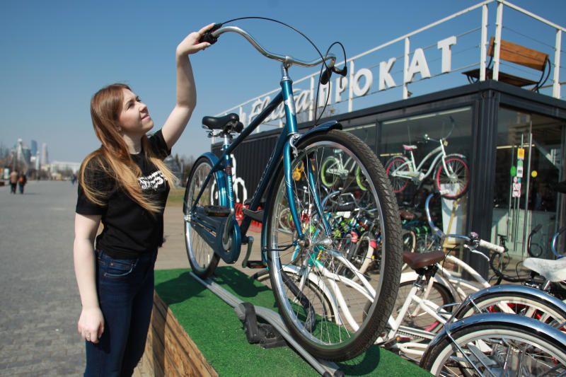 Велопрокат в Москве поставил новый рекорд