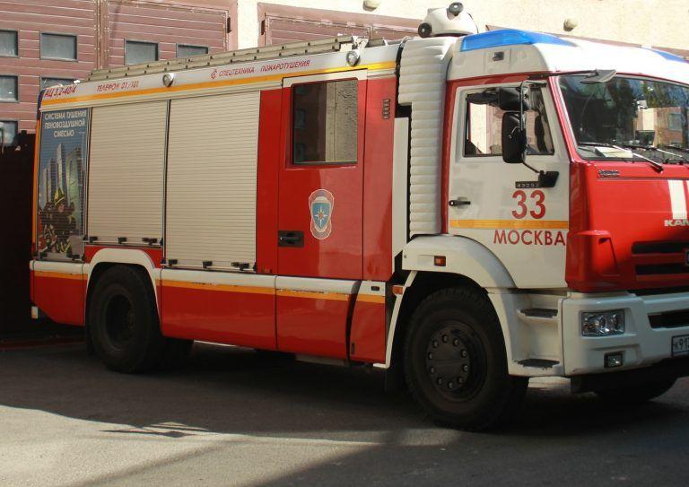 Пожар в Новой Москве ликвидирован