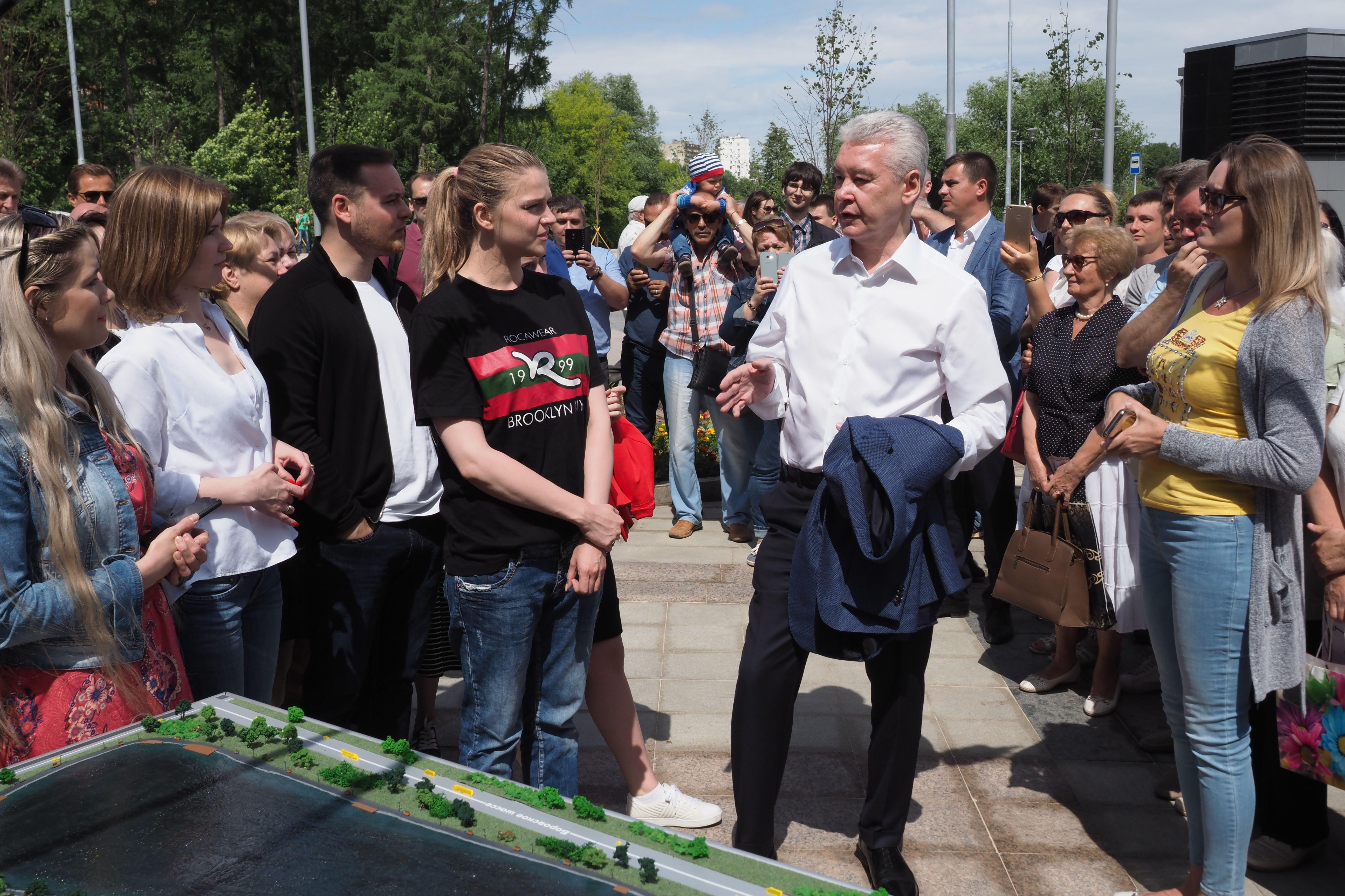 Сергей Собянин рассказал о создании 80 новых парков