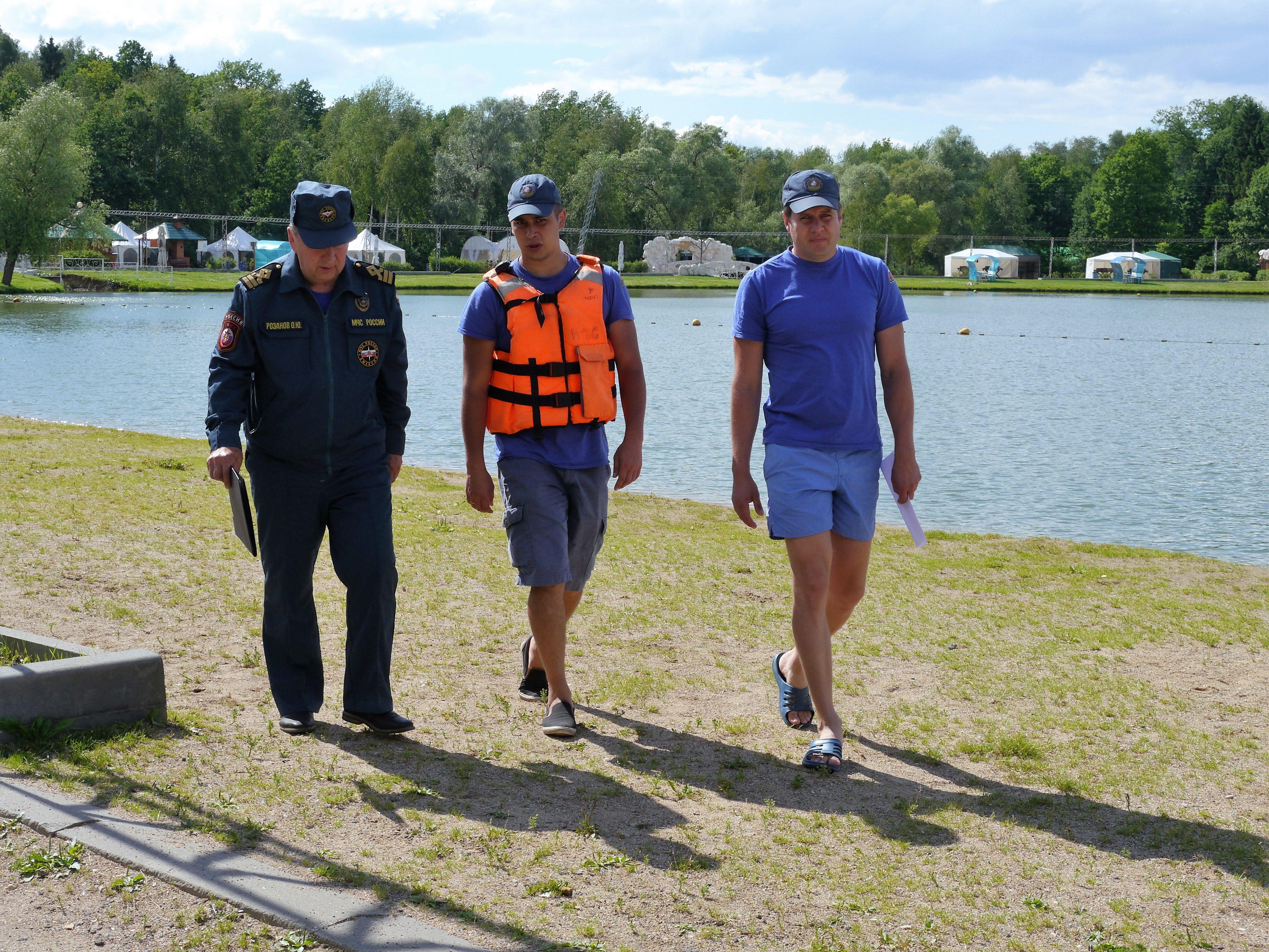 Безопасность водных объектов на контроле МЧС новой Москвы