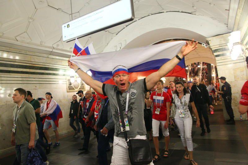Почти 300 тысяч пассажиров воспользовались метро и МЦК после матча Россия – Хорватия
