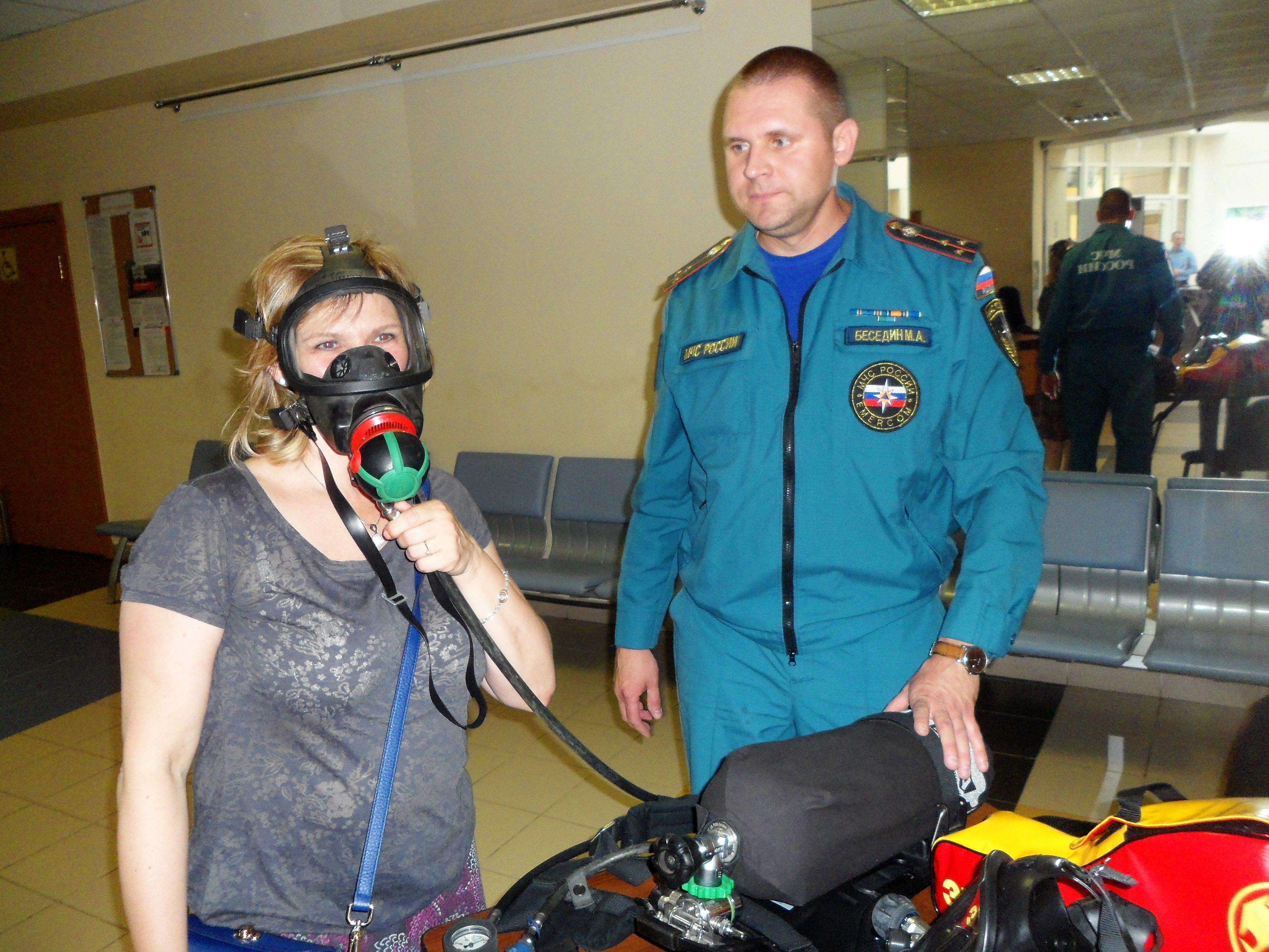Консультирование сотрудниками МЧС по вопросам пожарной безопасности