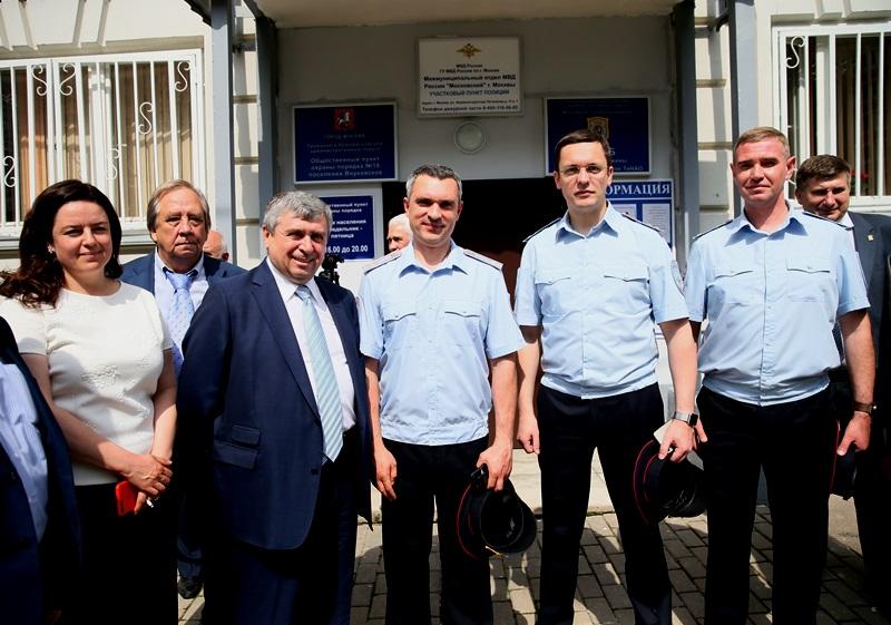 В Новой Москве состоялось торжественное новых открытие участковых пунктов полиции