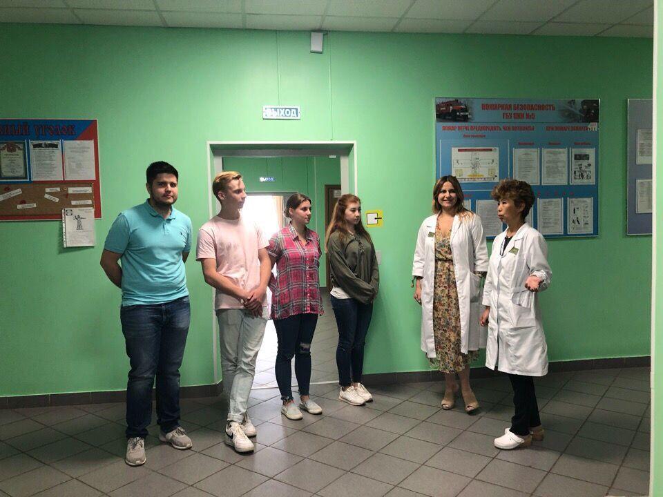 Молодые парламентарии из Филимонковского обсудили деятельность волонтеров