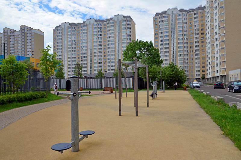 Спортивную площадку оборудуют в Московском