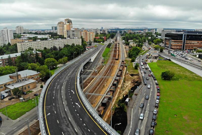 Более 1,5 тысячи километров дорог планируют построить в Новой Москве