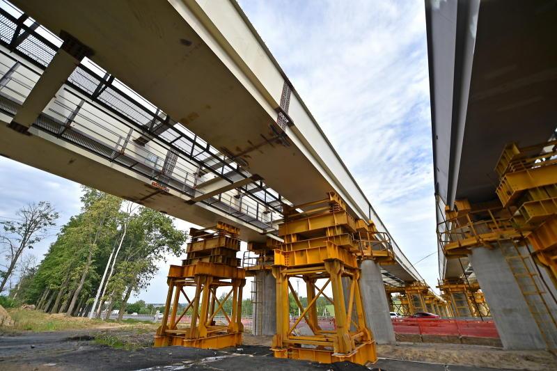 Строящиеся дороги улучшат транспортную ситуацию в Новой Москве