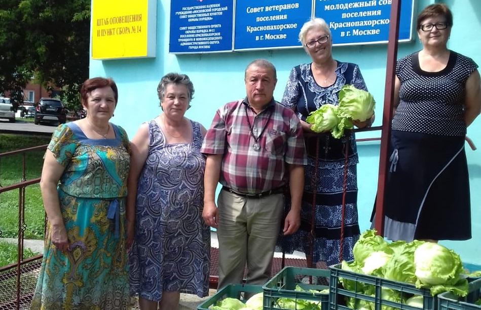 Фермер провел акцию в Краснопахорском