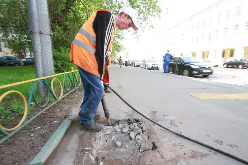 Работы по обустройству дорожки завершатся в ближайшее время в поселке Шишкин Лес