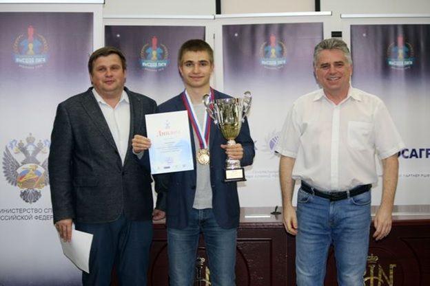 Гроссмейстер из Рязановского выиграл турнир Высшей лиги