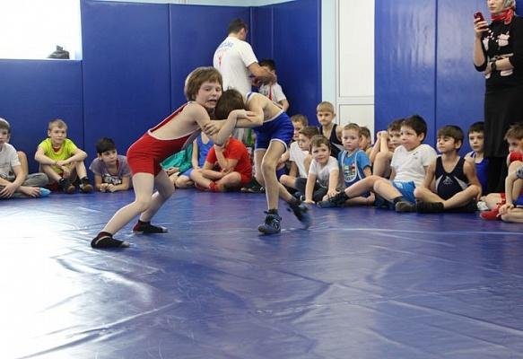 Турнир по вольной борьбе в Сосенском. Фото: Сосенский центр спорта