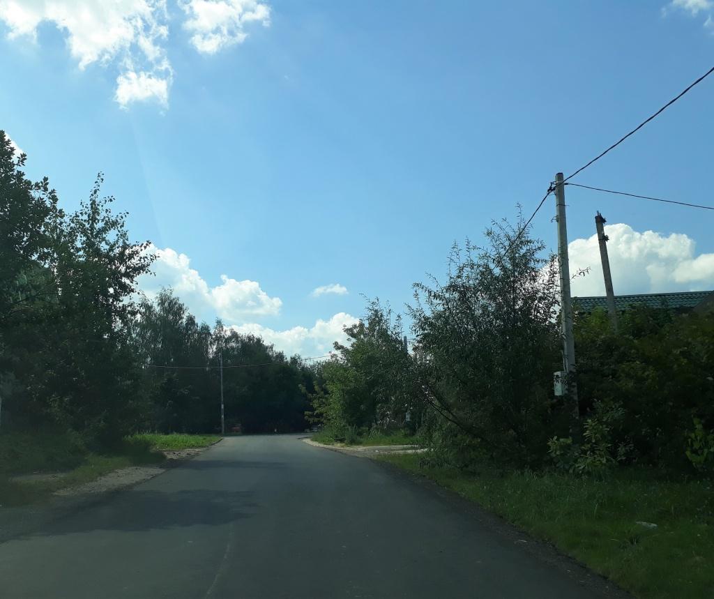 Подъездную дорогу обновили в Рязановском