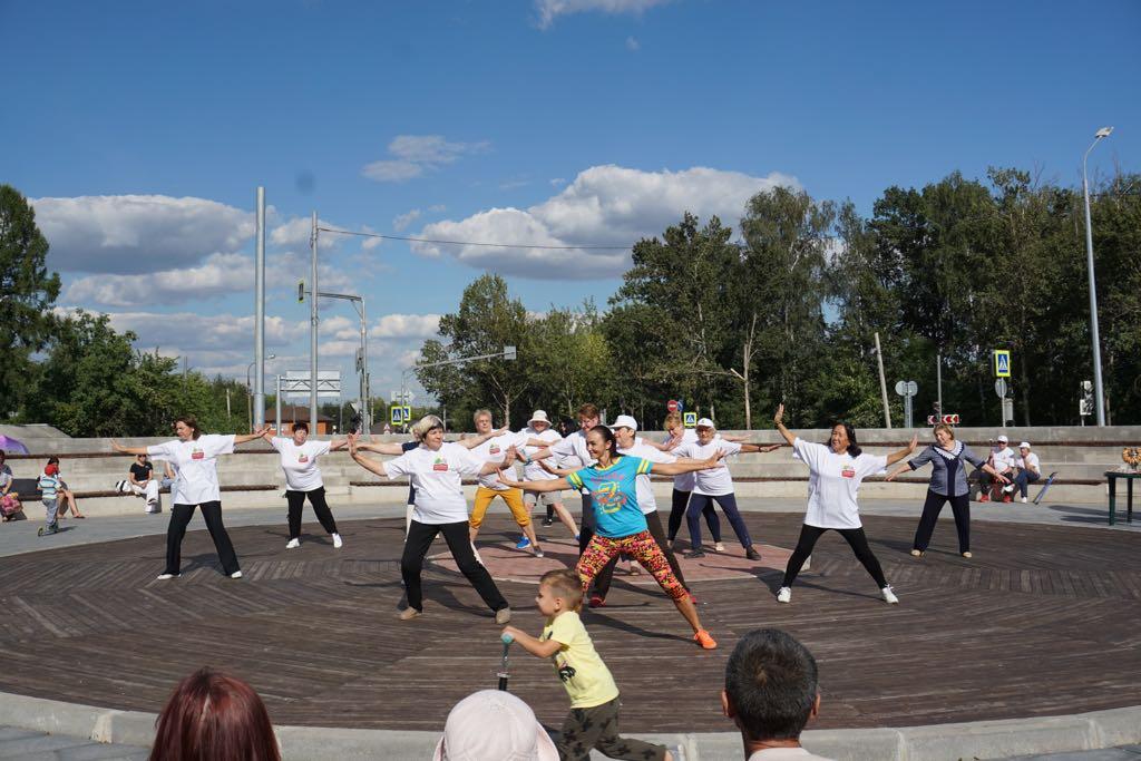Праздник в рамках проекта «Московское долголетие» провели в Кокошкине