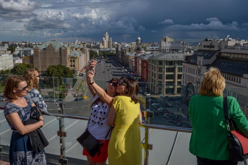 Москва вошла в топ-3 самых фотографируемых городов мира
