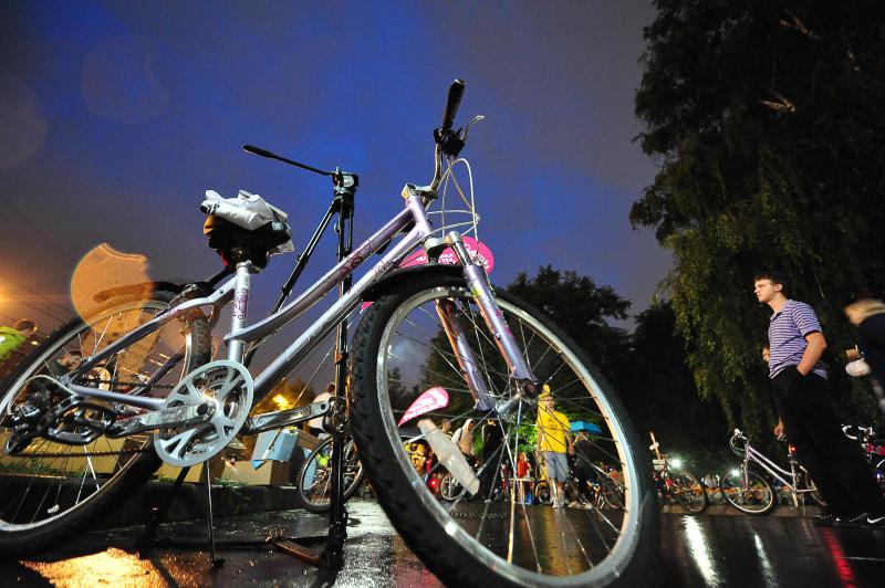 Власти Москвы перекроют более 20 улиц из-за «Велоночи»