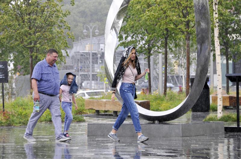 Среда принесет в Москву дождь с грозой