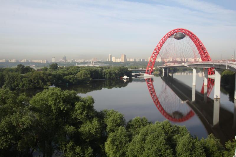 Воскресенье принесет теплую погоду в Москву