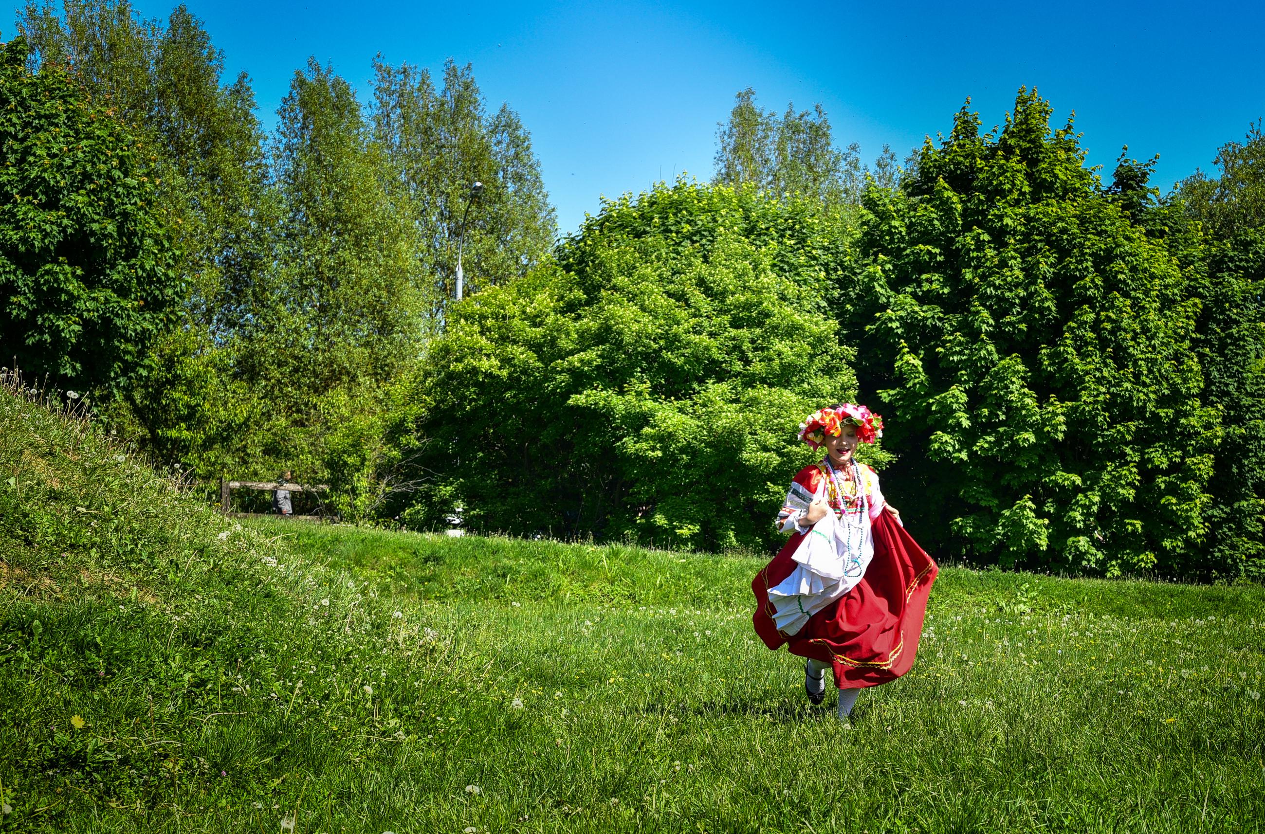 Детям Троицка рассказали о народах России