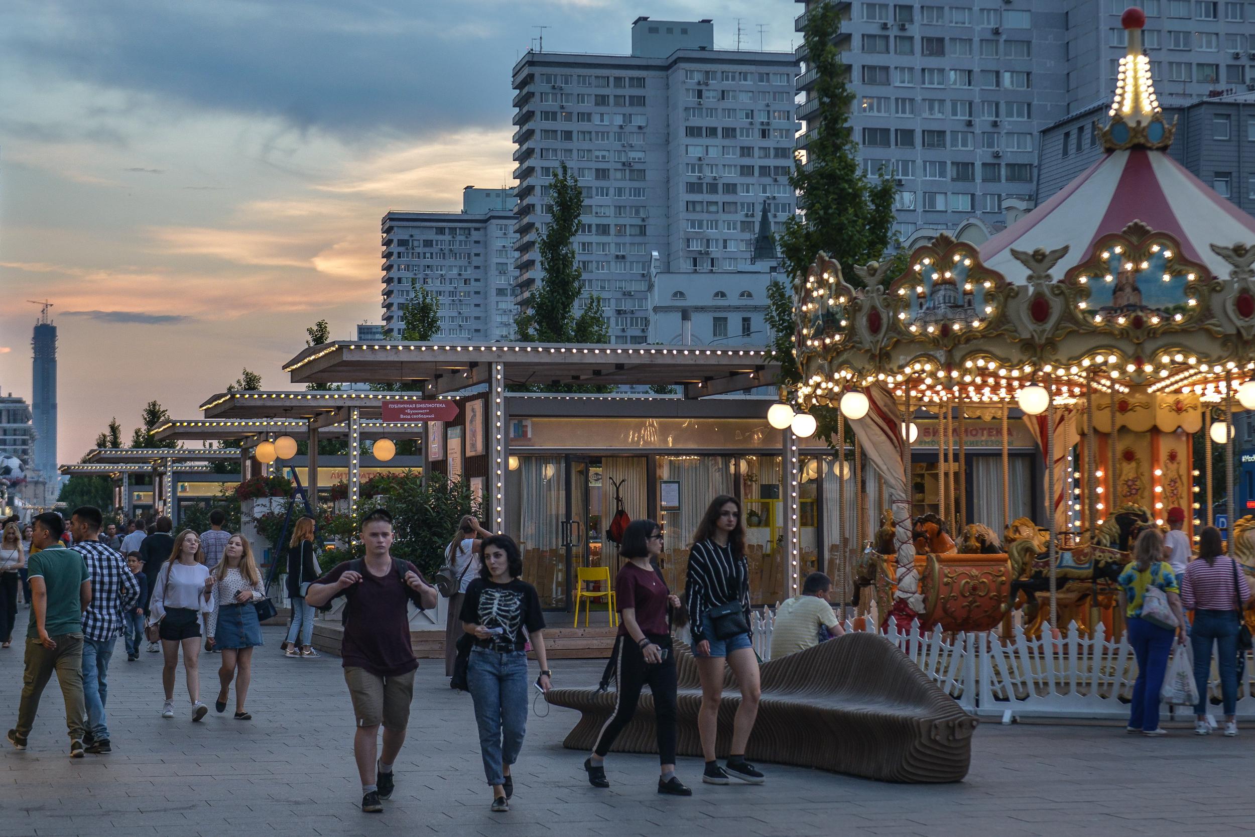 Активные горожане расскажут о любимых местах Москвы