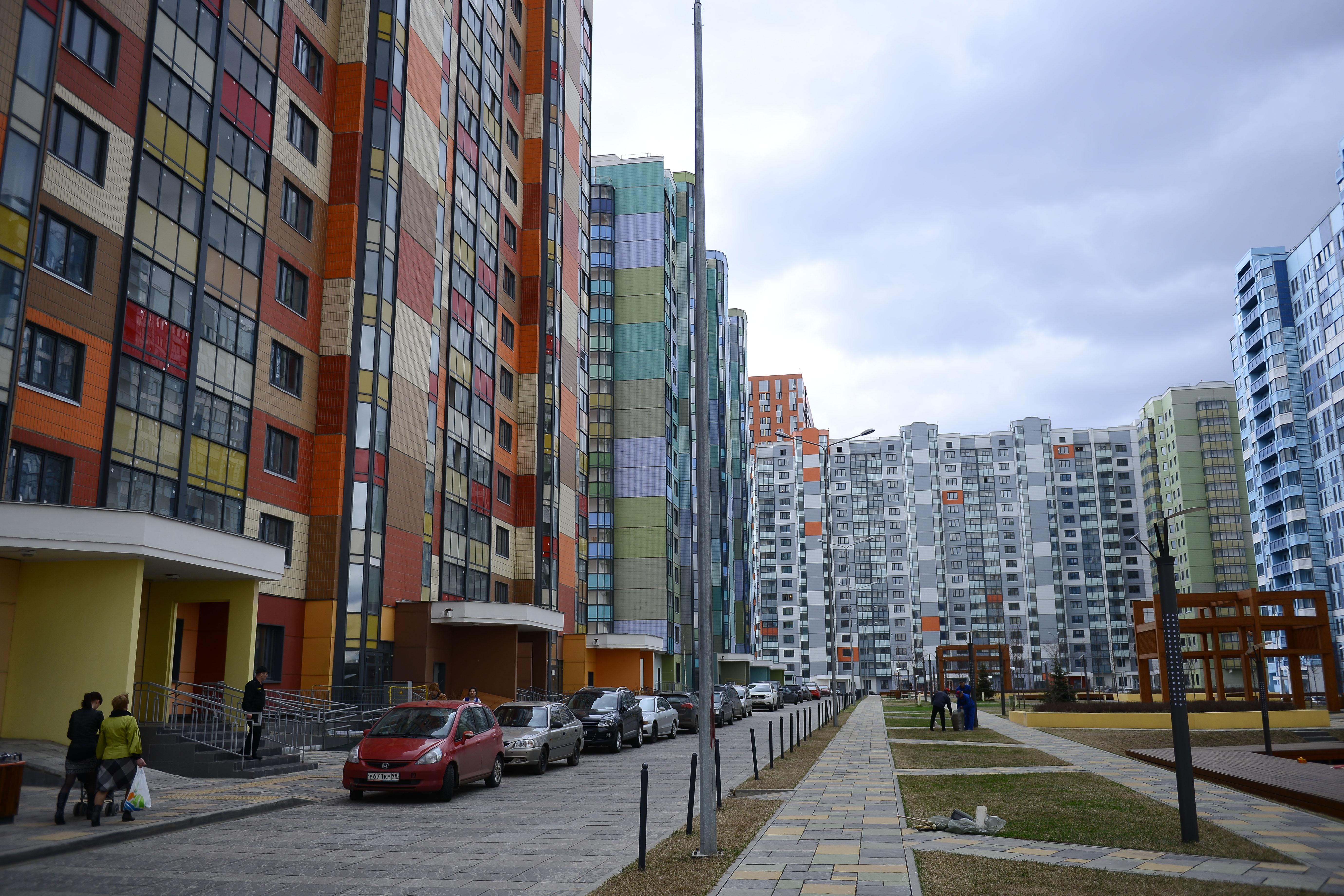Рекорд по вводу в эксплуатацию жилых зданий в Новой Москве установили в июле 2018 года