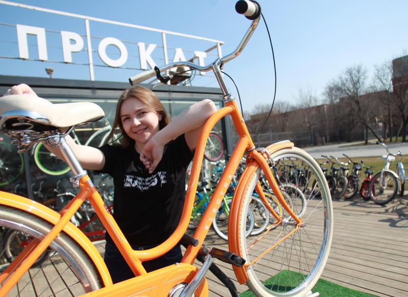 Жители Москвы установили велосипедный рекорд