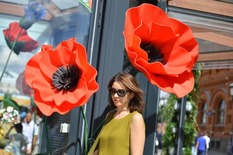 Мировые дизайнеры украсят Москву к фестивалю «Цветочный джем»