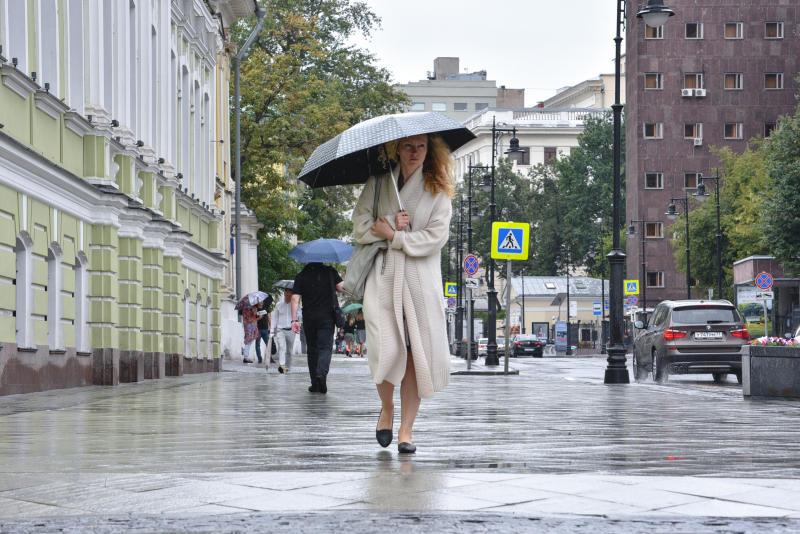 В столице незначительно похолодает. Фото: Пелагия Замятина