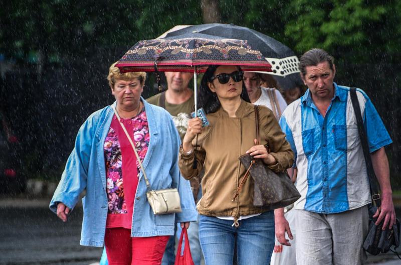 Похолодание и дожди придут в Москву