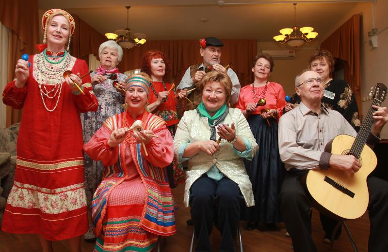 Ансамбль народной песни из Троицка готовится к масштабному концерту