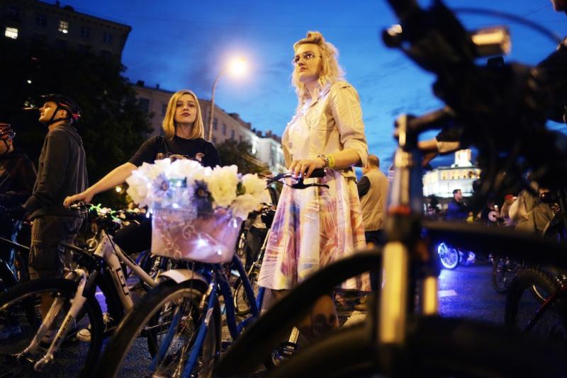 Ежегодный ночной велопарад посетили более 30 тысяч человек