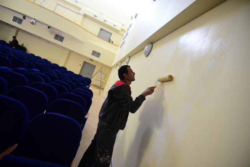 Ремонт школы завершили в Щербинке