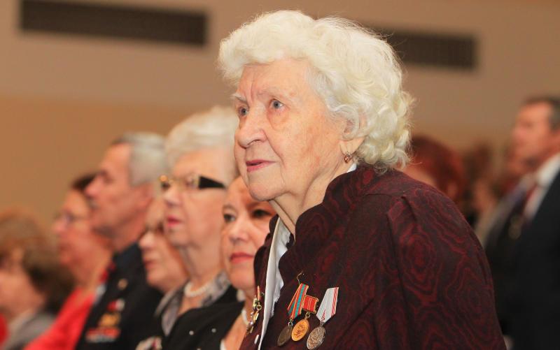 Совет ветеранов Мосрентгена посетил общеокружное собрание