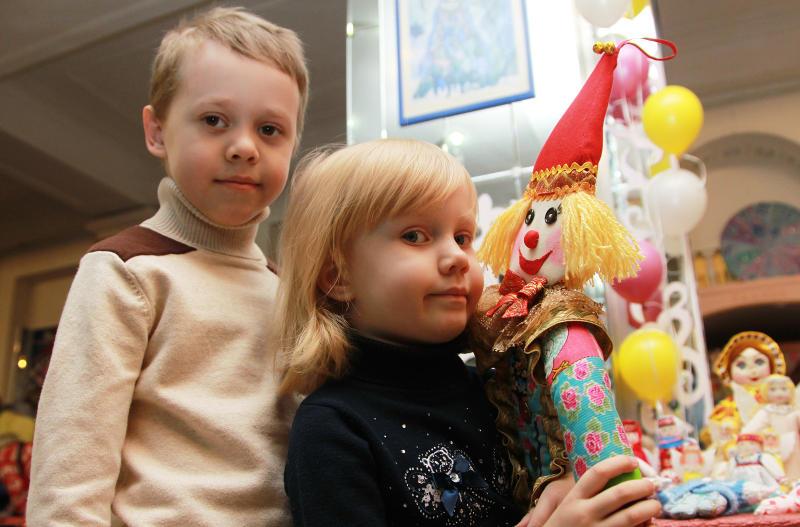 Урок по созданию игрушек провели в библиотеке Мосрентгена