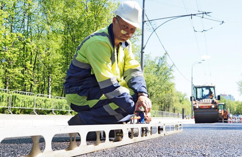 Обновление дорожно-транспортной сети завершили в Кокошкине