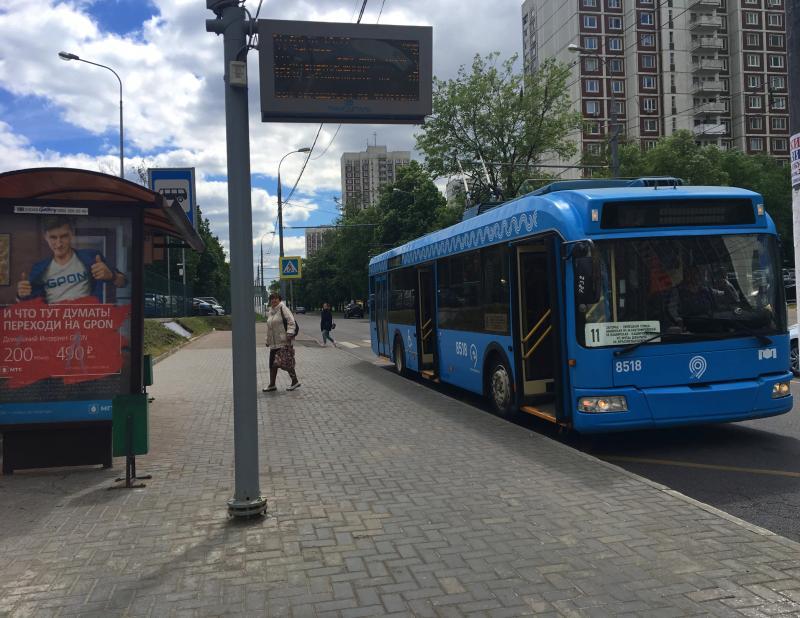С 1 сентября наземный транспорт в Москве станет бестурникетным