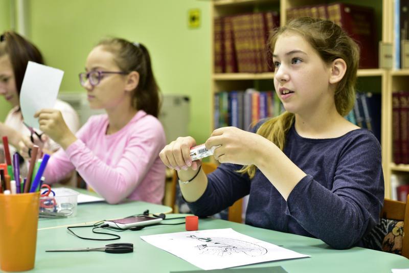 Ребята из Киевского приняли участие в творческом мастер-классе