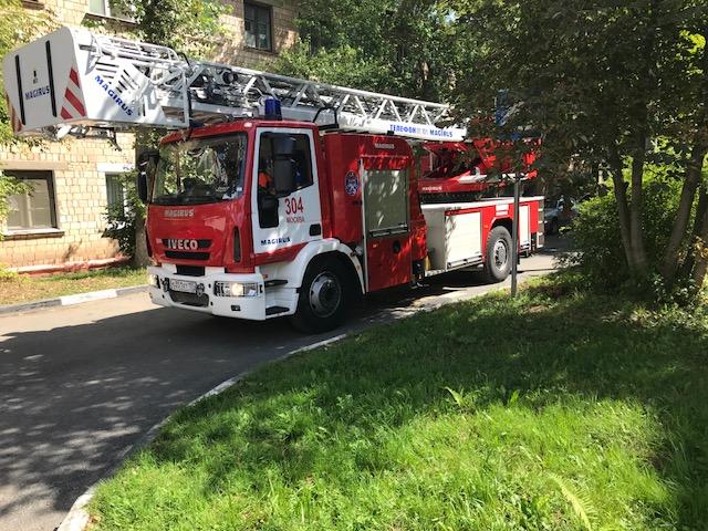 Пожарные гидранты проверили на работоспособность в Рязановском