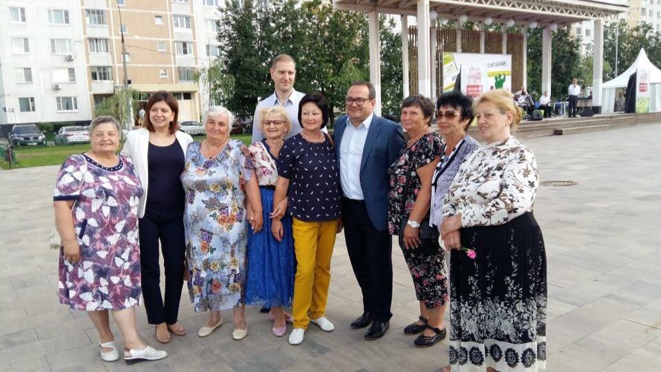 Префект Новой Москвы посетил поселение Московский