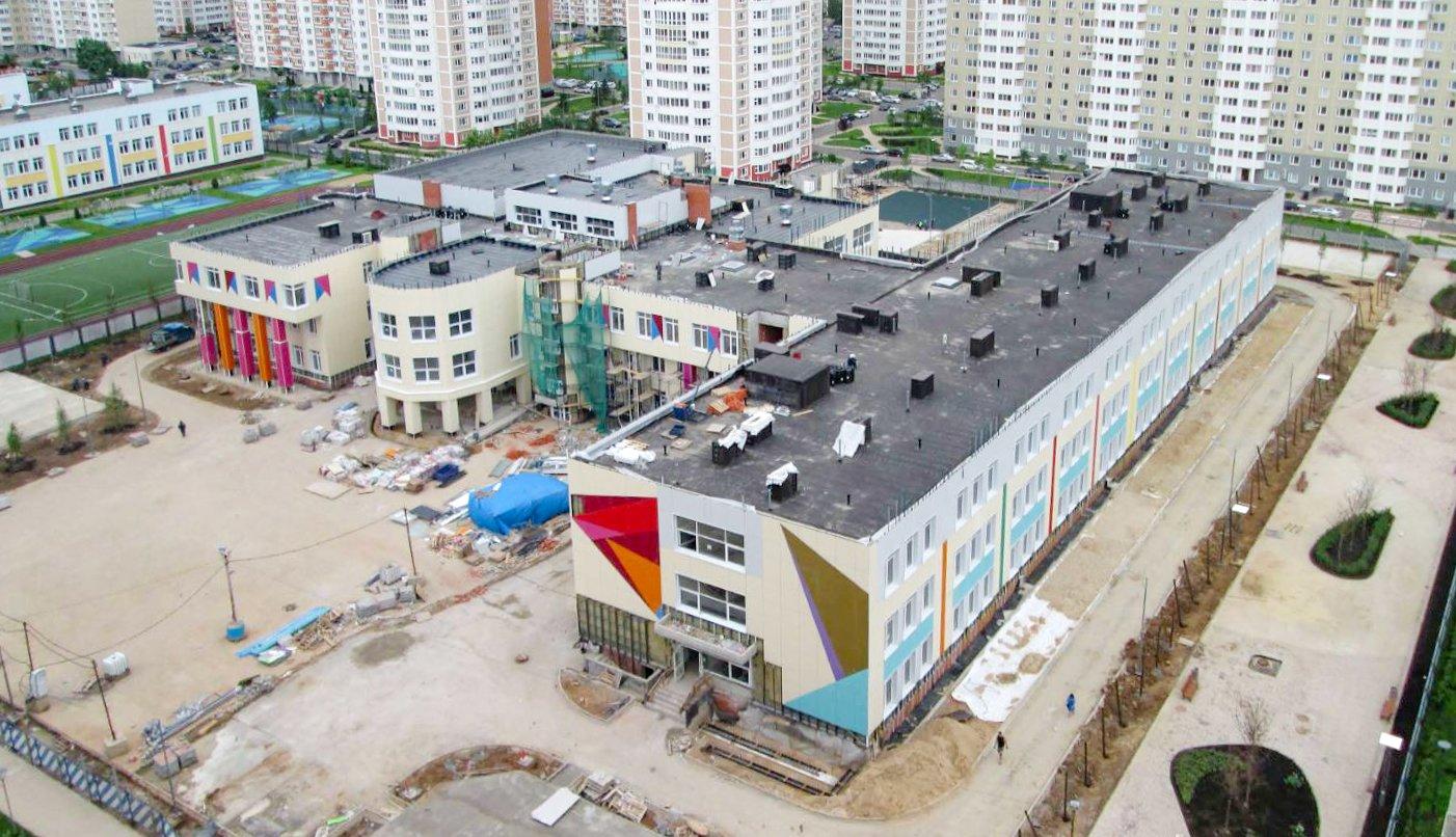 Здание школы с фотостудией построят в Московском к началу учебного года