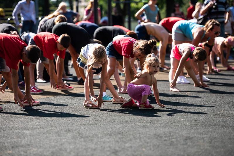Мероприятия ко Дню физкультурника проведут в Первомайском