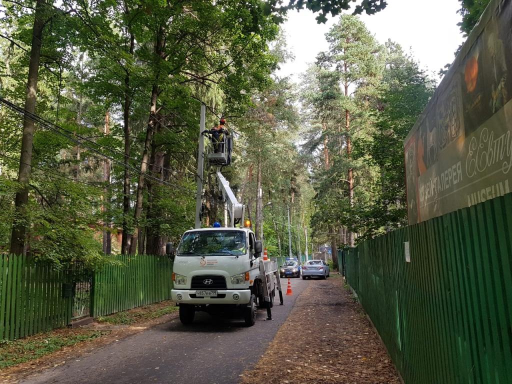 Реконструкцию линий электропередач проведут во Внуковском
