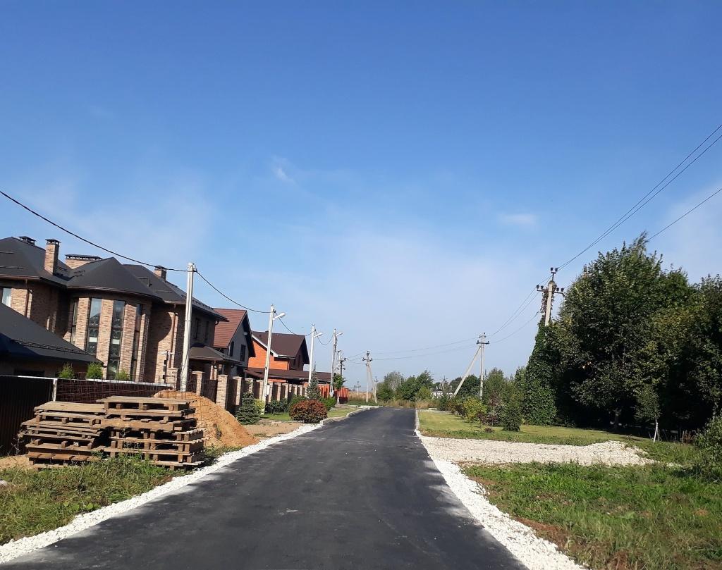 Подъездные дороги заасфальтировали в Рязановском