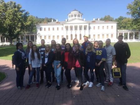Кадеты из Кленовского посетили музей-усадьбу «Остафьево»