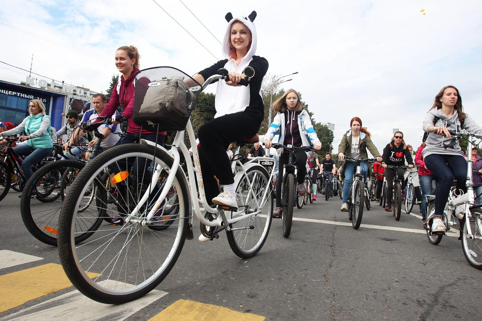 Участники велопарада перекроют Москву в воскресенье