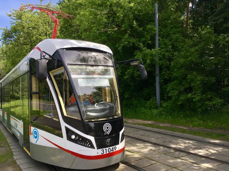 Парк московских трамваев полностью обновят к 2024 году