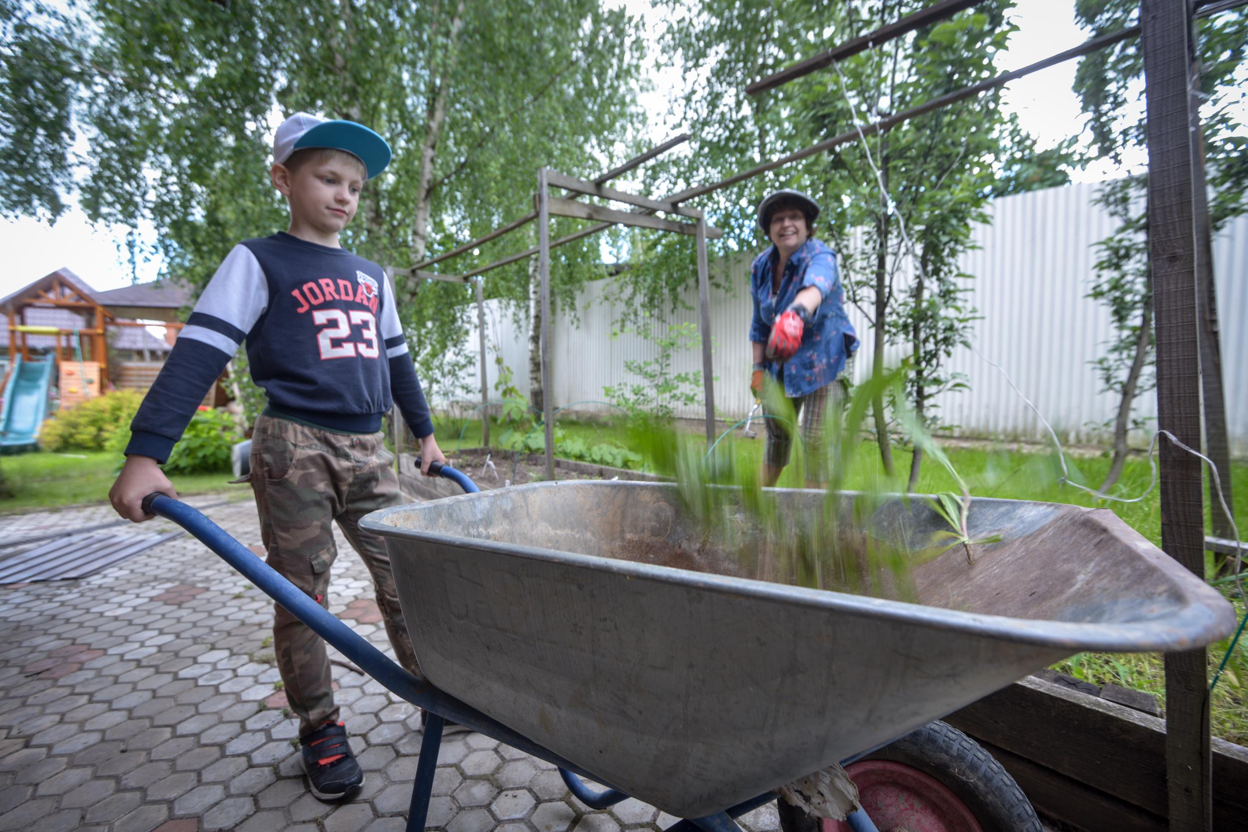 Школьники из Внуковского поучаствовали в сборе урожая. Фото: архив, «Вечерняя Москва»