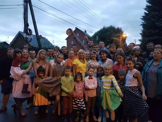 Жители деревни Большое Свинорье. Фото: администрация поселения Марушкинское