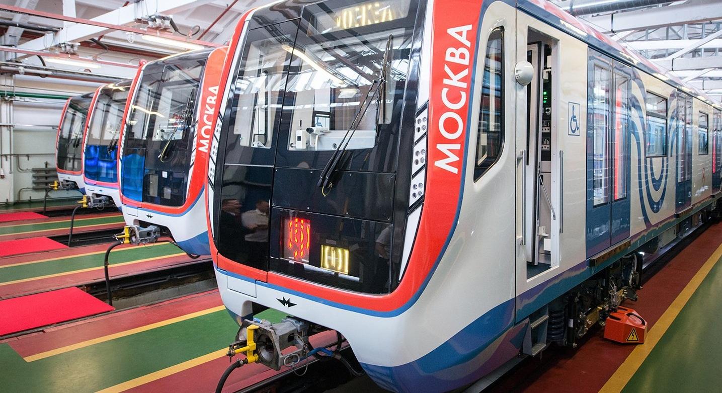 В метро курсируют 70 инновационных составов. Фото: mos.ru
